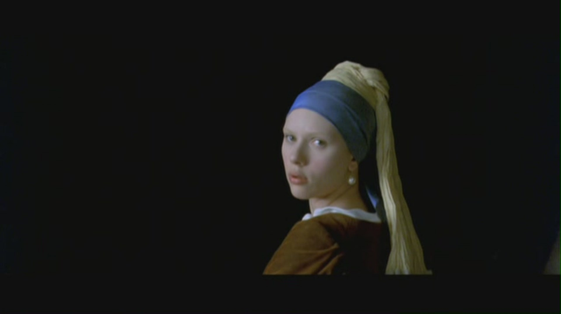 016 Girl With Pearl Earring Scarlett Johansson Essay Outstanding A The Movie Film Review 1920