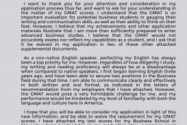 016 Gmat Waiver Letter Example Essay Shocking Sample Topics Awa Essays Free Download