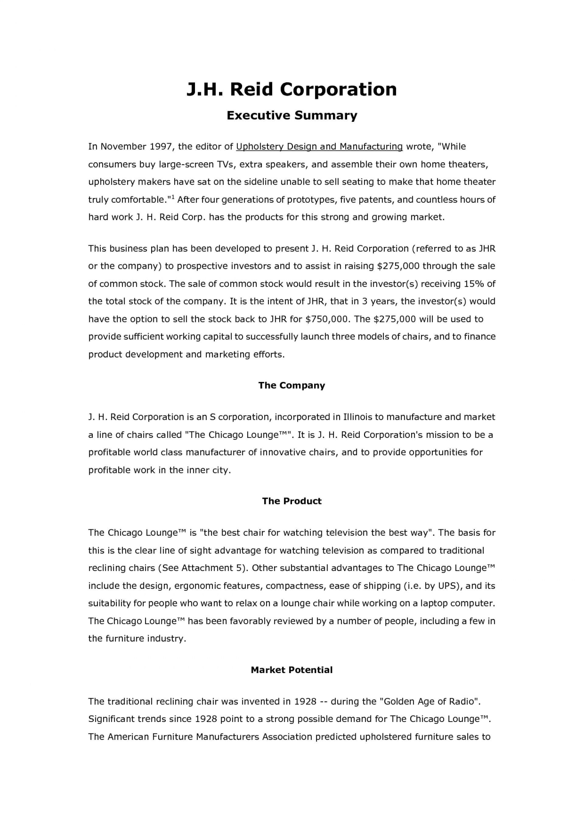 016 Hard Work Essay Example Business Plan Outstanding 1920