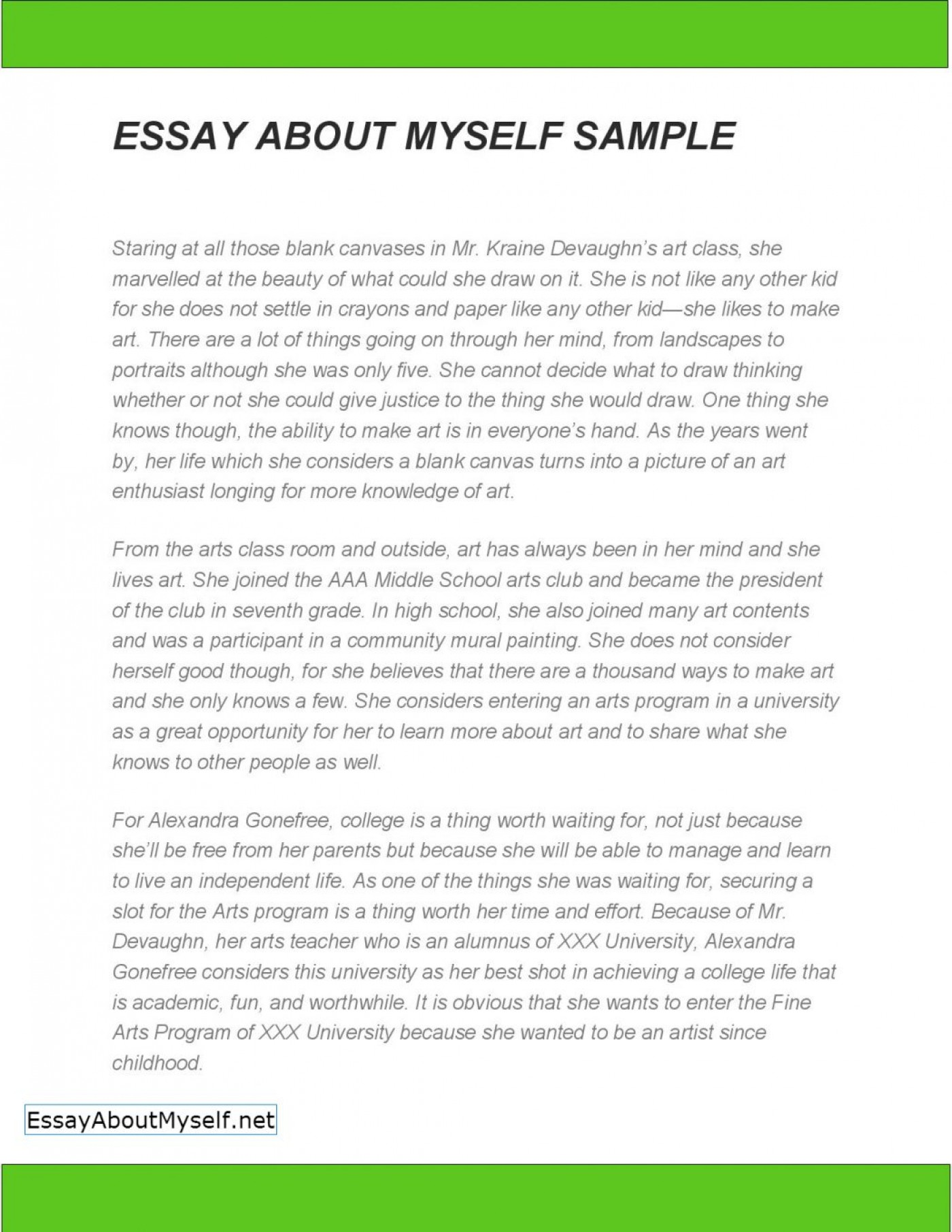 free online essay template