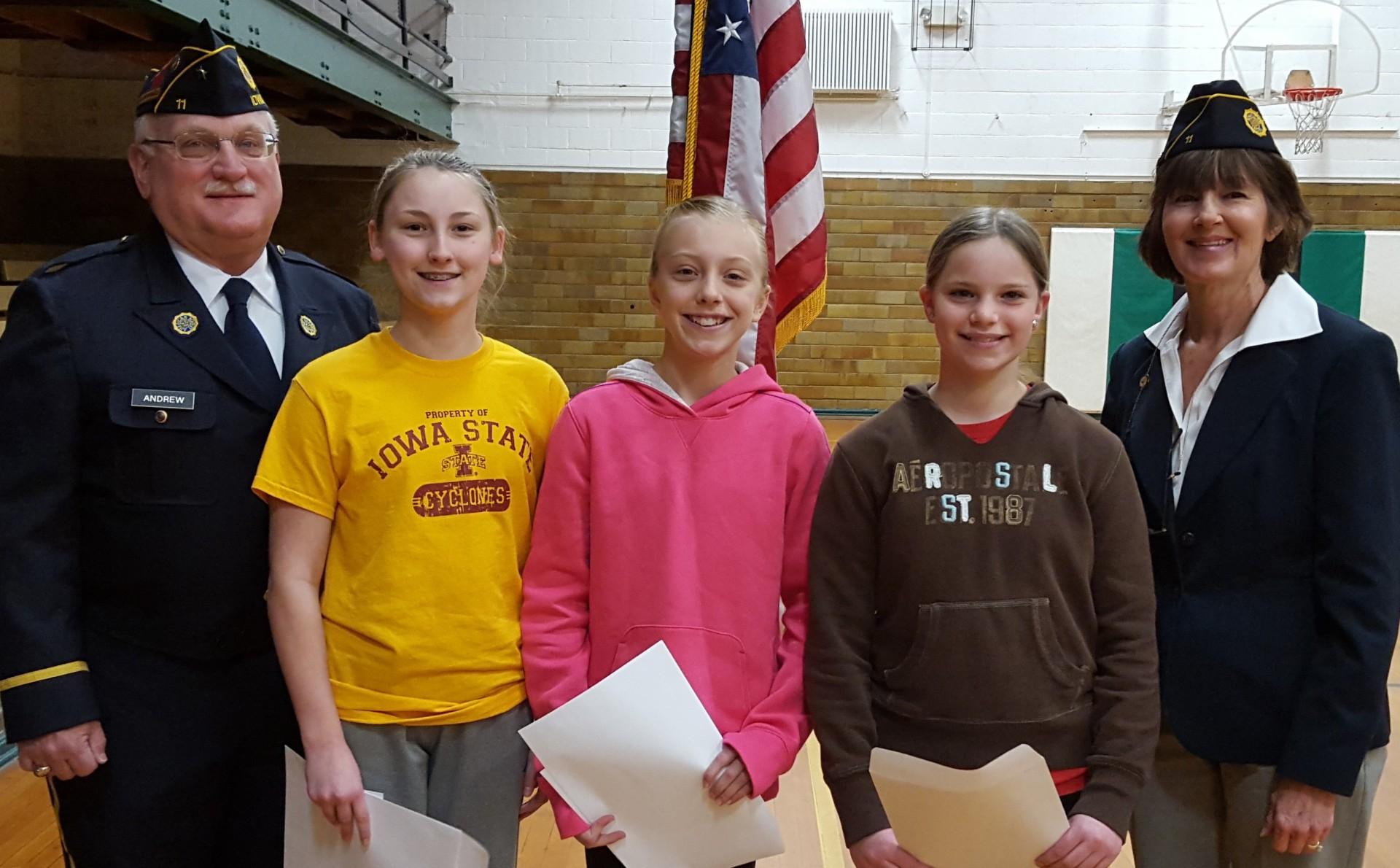 016 High School Essay Contest Essays American Legion Fifth Grade Winners Afsa Staggering 1920