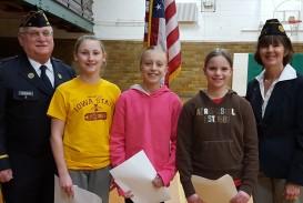 016 High School Essay Contest Essays American Legion Fifth Grade Winners Afsa Staggering