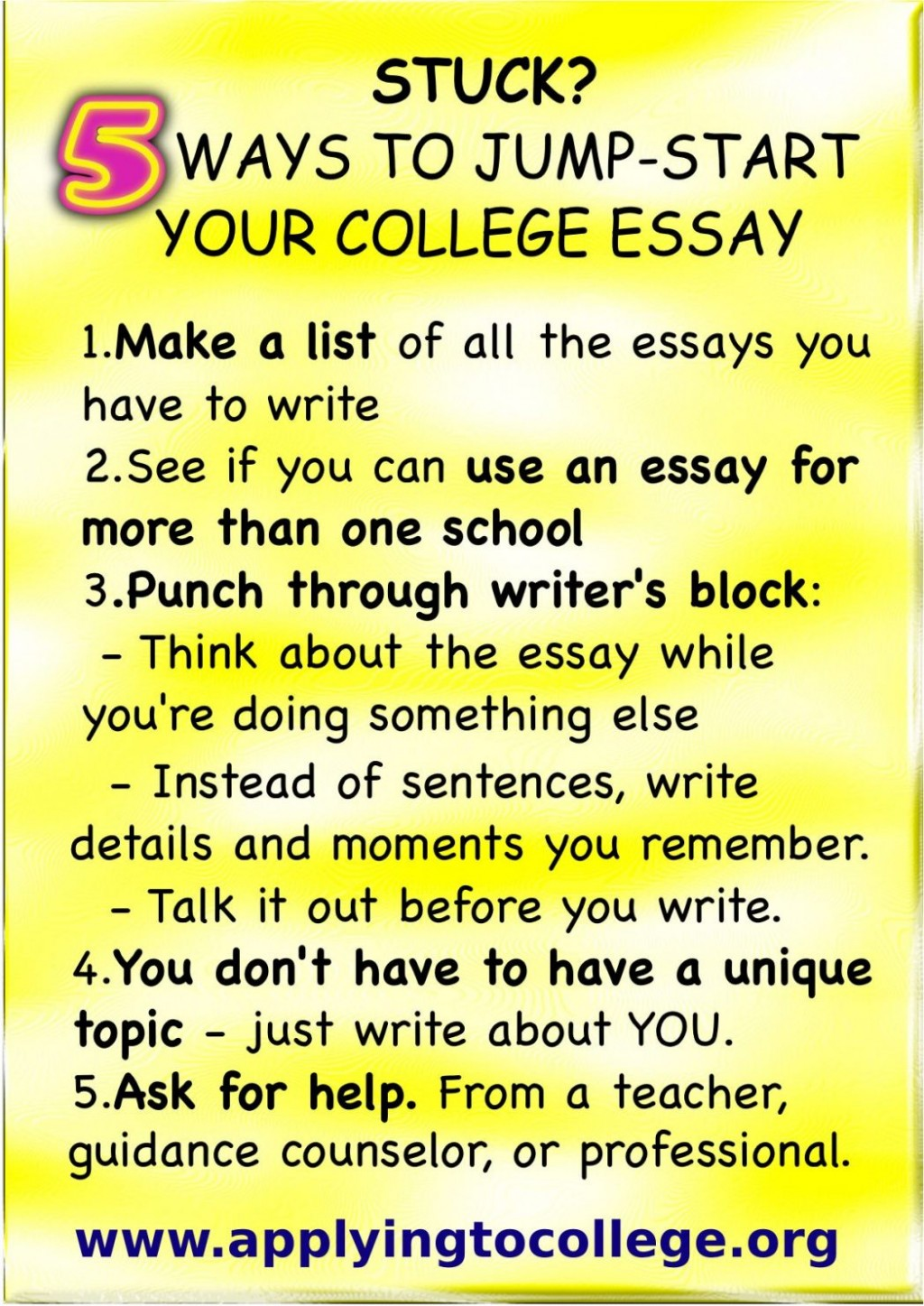 016 How To Start College Application Essay Ways Reduce Stress After Highschool About Yourself Writing Hook With Quote Examples Exceptional A Good Write Wikihow Large