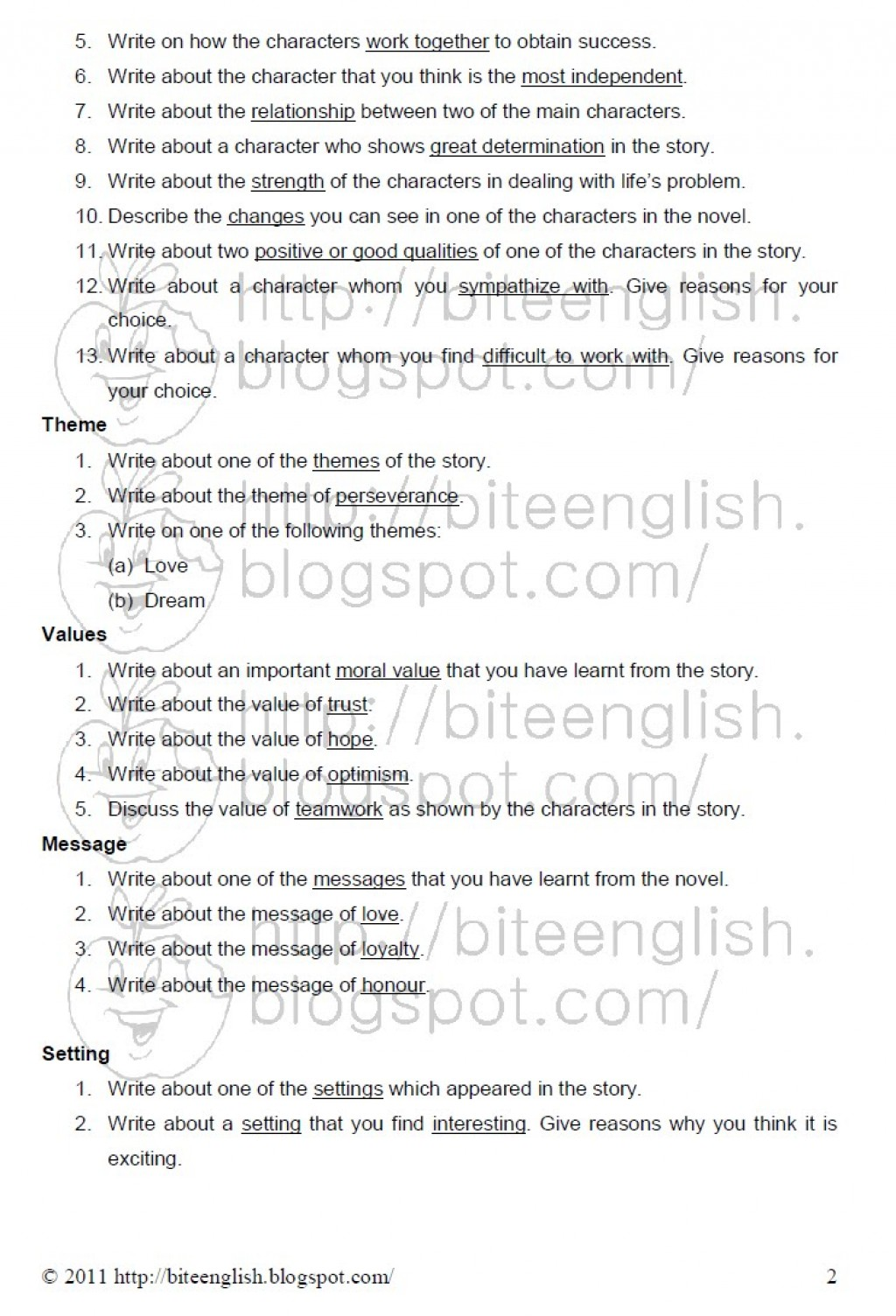 016 How To Write Theme Essay Pmr English Ex Comparison Example Literary Conclusion Introduction Examples Song Analysis Expository High School Paper Marvelous A Hook For Large