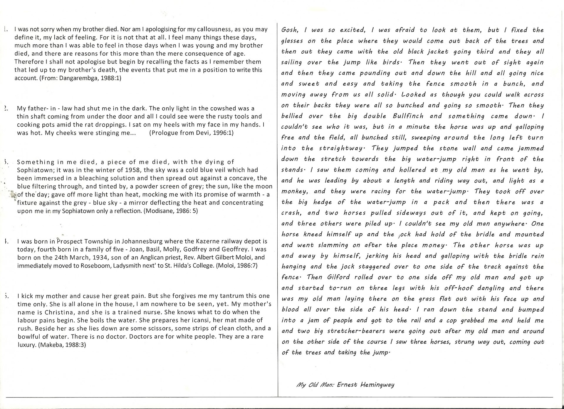 016 Ideas For Narrative Essay Example Good Vs Beautiful A Fictional Writing Personal Descriptive 1920