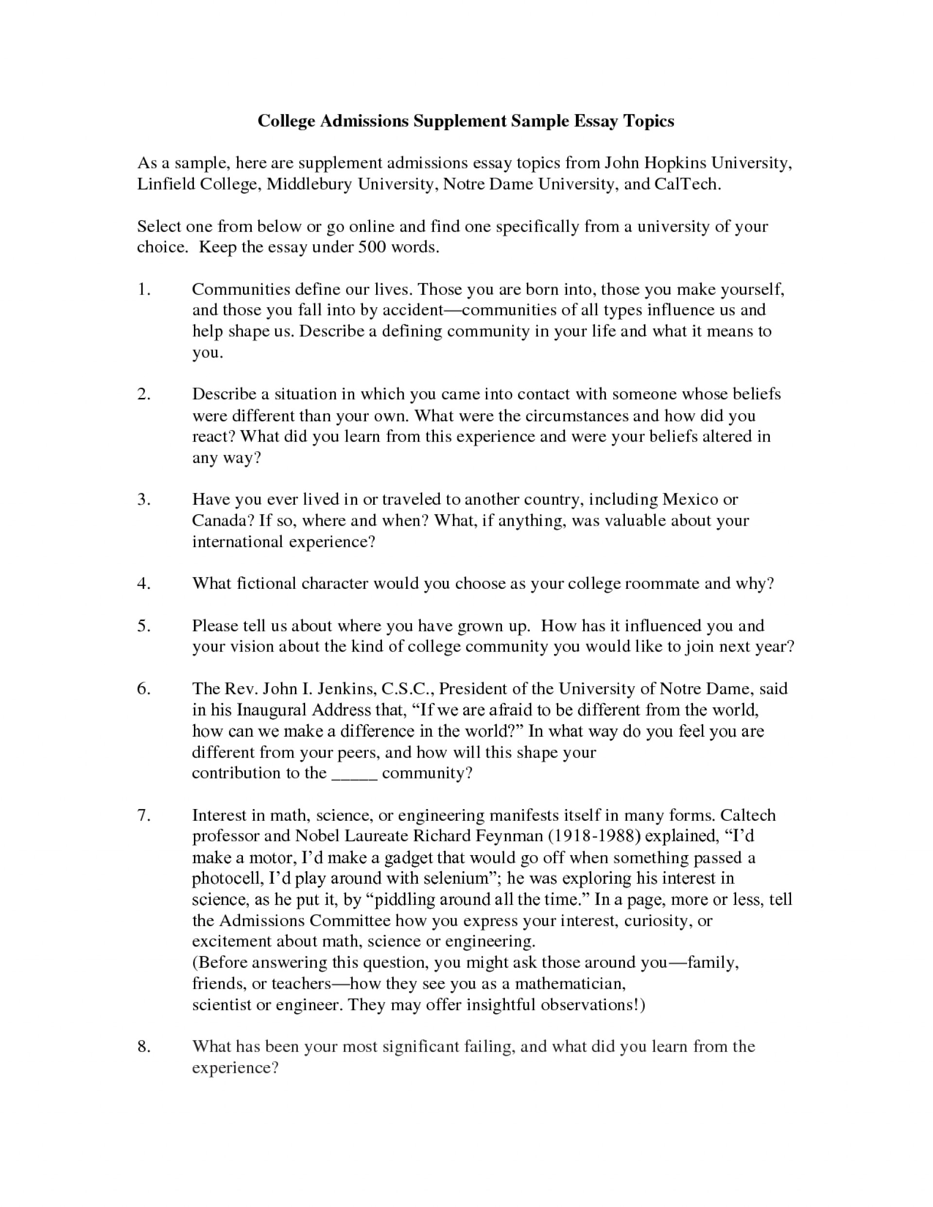 016 Interesting Essay Topics How To Start College Admission Unique For L Amazing Descriptive Write About Grade 8 In Urdu Synthesis 1920