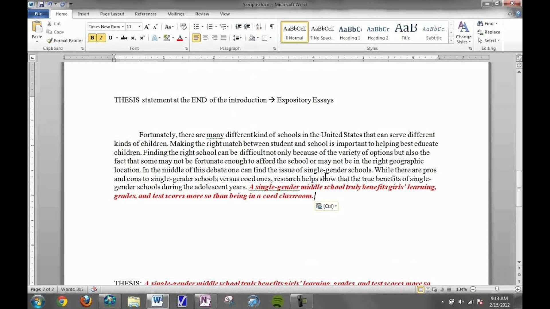 016 Maxresdefault Essay Example Expository Surprising Introduction Format Sample 1920