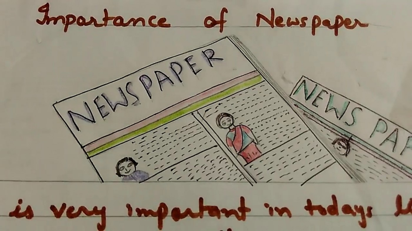 016 Maxresdefault Essay Example My Favourite Newspaper In Striking English 1400
