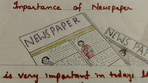 016 Maxresdefault Essay Example My Favourite Newspaper In Striking English 480
