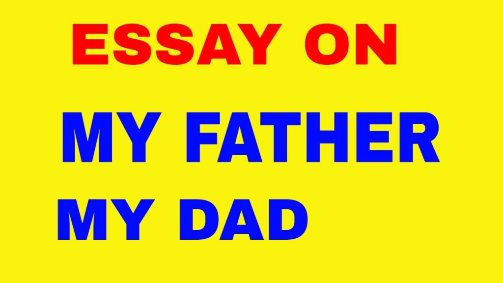 016 Maxresdefault Essay My Father Hero Unusual Parents Superhero Large