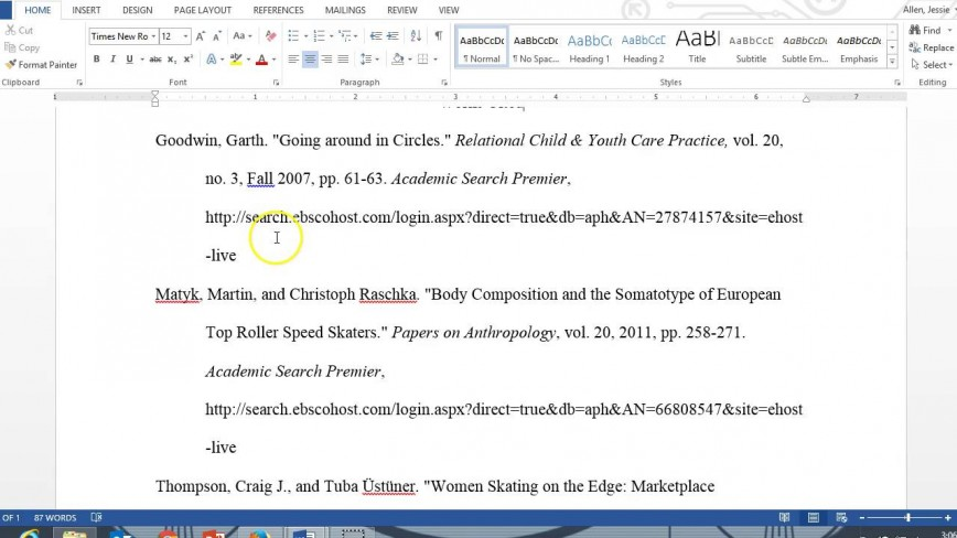016 Maxresdefault How To Cite An Essay In Mla Surprising 8 Format Text Anthology