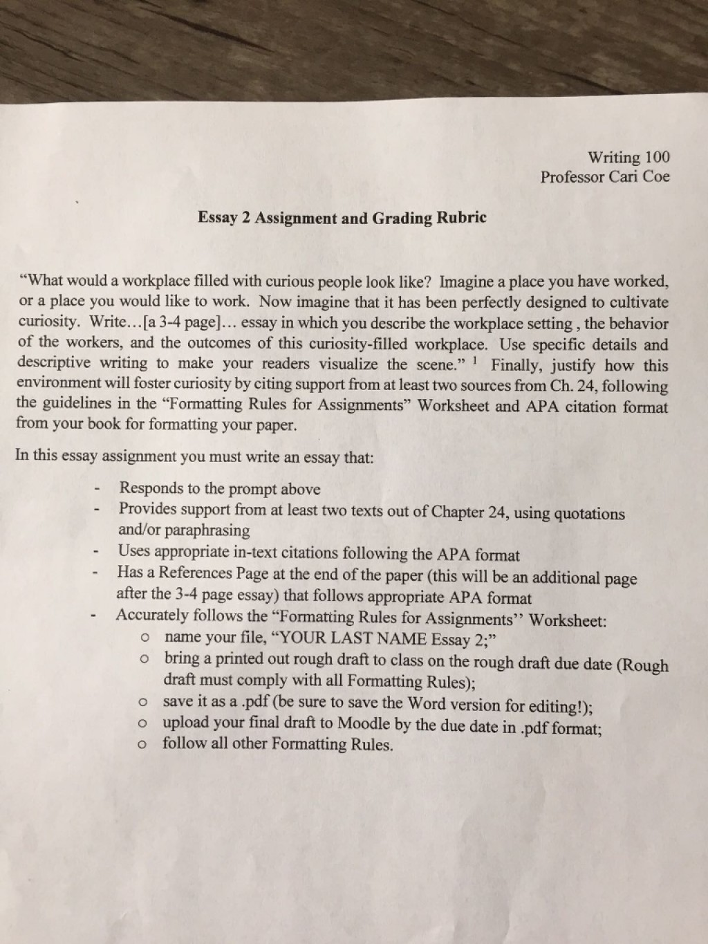 016 Media2f8e32f8e373b01 Ba65f02721362fphpz6tn1c Essay Example Amazing Professor Teaching College Writing On My In French Large