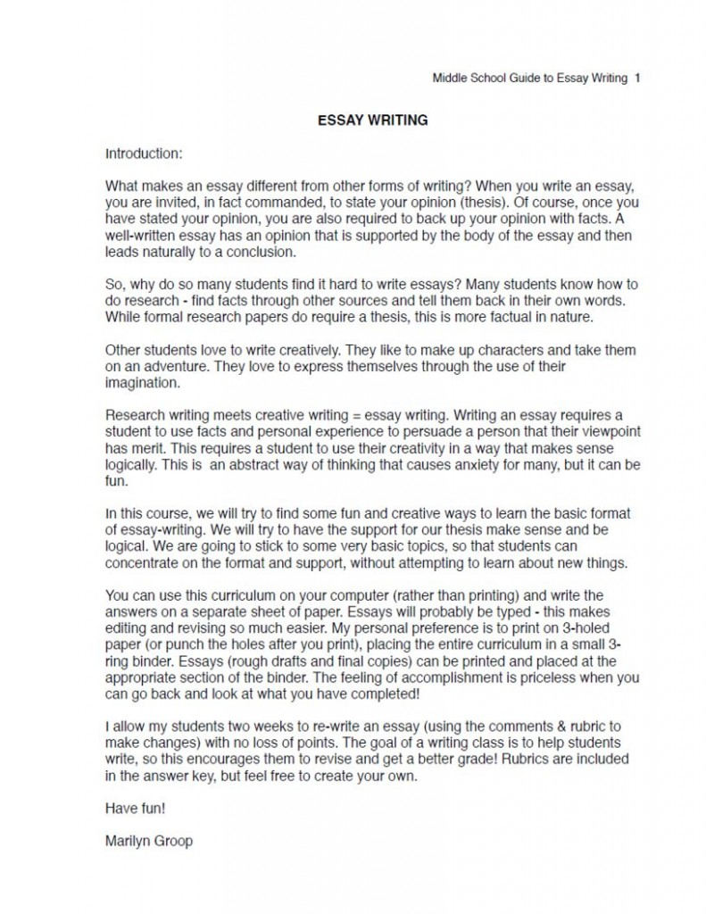 016 Ms Essay Excerpt 791x1024cb Example Topics For Persuasive Incredible Essays 5th Graders Good A Middle Schoolers High School Full