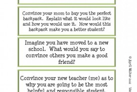 016 Narrative Essay Writing Prompts For High School Poemsrom Co Good Persuasive Topics The Idea Backpack Made It Monday Back 4th Grade Middle Personal Formidable 5 Paragraph 5th