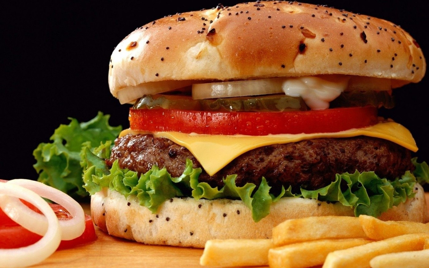 016 Opinion Essay About Fast Food French Fries Onions Hamburgers Unbelievable Example Restaurants 1400