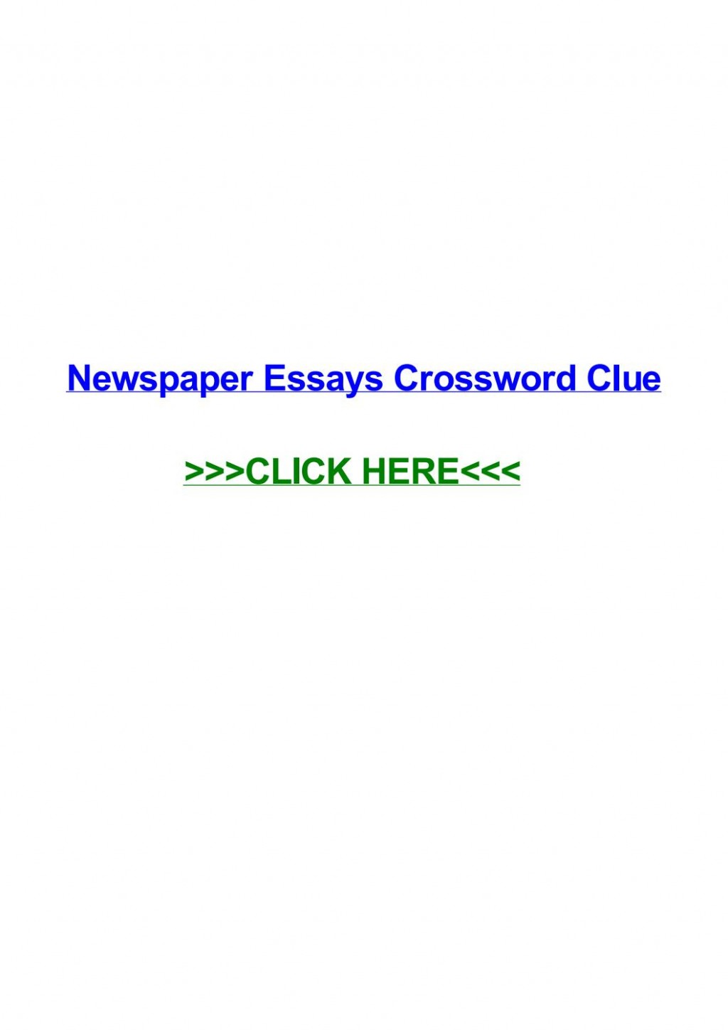 016 Political Essay Crossword Page 1 Dreaded Clue Large