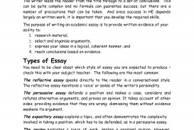 016 Reflective Essay On Academic Writings Beautiful Examples For Middle School Apa High 320