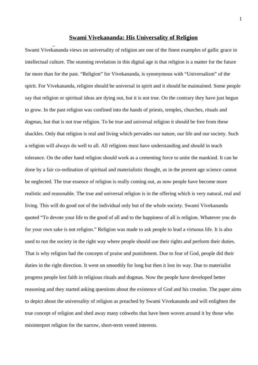016 Religion Essay Largepreview Formidable Freedom Of Example Topics Argumentative Good Titles