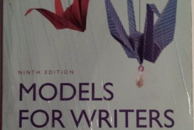016 S L1600 Models For Writers Short Essays Composition Essay Singular 12th Edition Pdf 13th