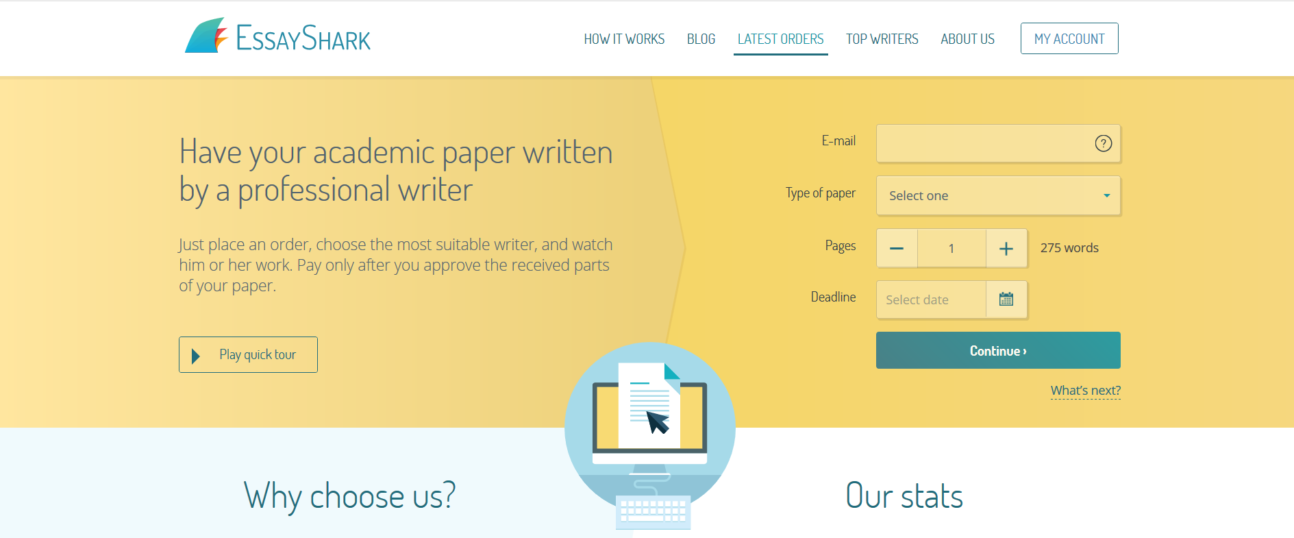 016 Shark Essay Example Screen Wonderful Essayshark Sign Up Topics Questions Full