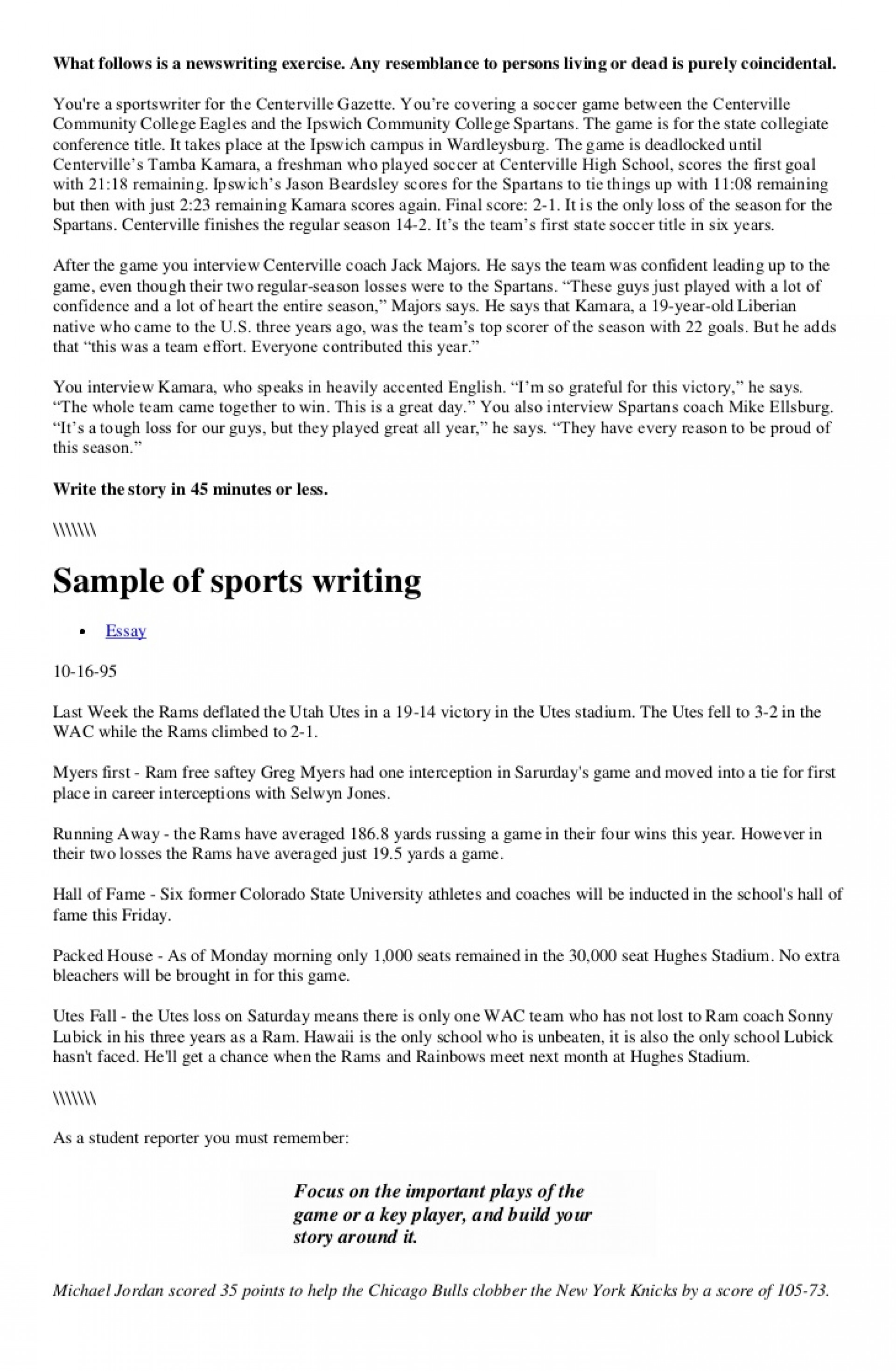 016 Sports Essay Example Writing On Steroids In Home Exercise Pdf Ideas Importance Of Hindi Remarkable Argumentative Examples Related Topics 1920