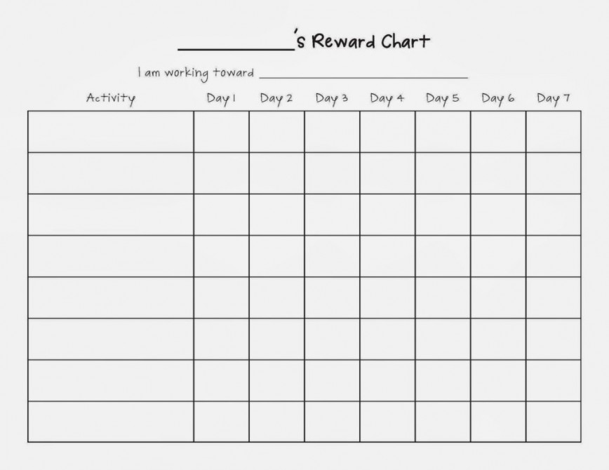 016 Uncategorized Free Weekly Reward Chart Blank Template For Children 1024x791 Essay Example Amazing Reword Generator Software