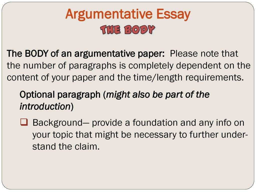 016 What Is Claim In An Argumentative Essay Argumentativeessay Imposing A Apex Effective Brainly For Large