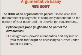016 What Is Claim In An Argumentative Essay Argumentativeessay Imposing A Apex Effective Brainly For