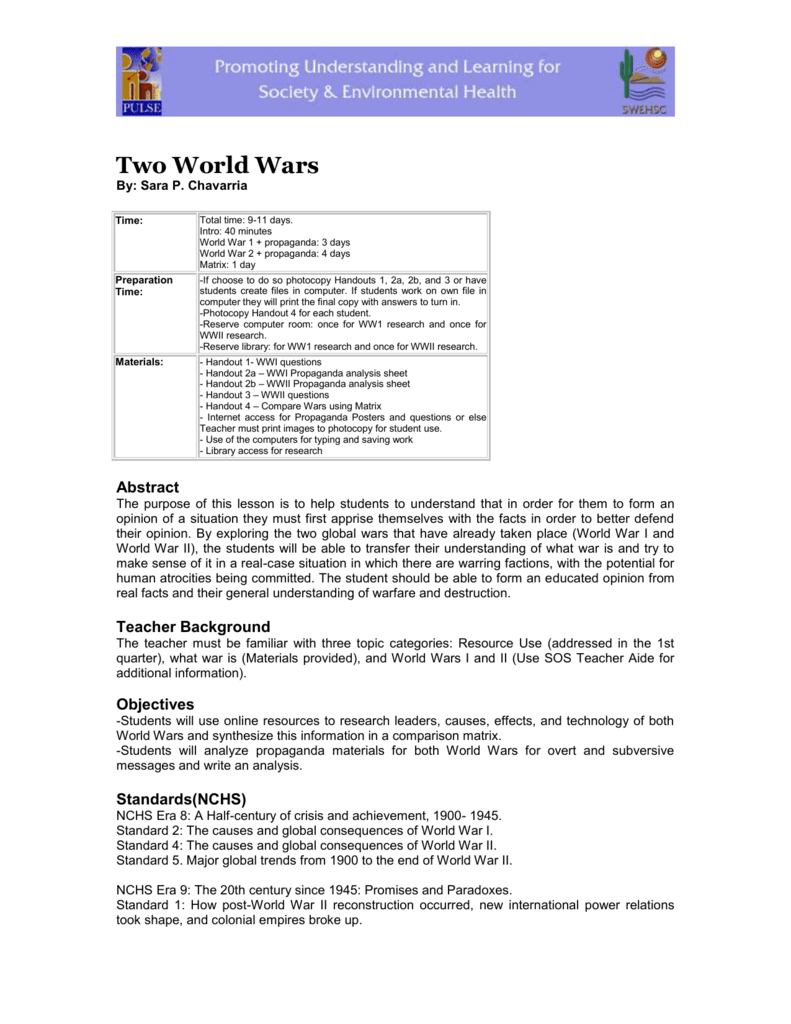 016 World War Essay Example 008021796 1 Outstanding 2 Causes Of Questions Hooks Full