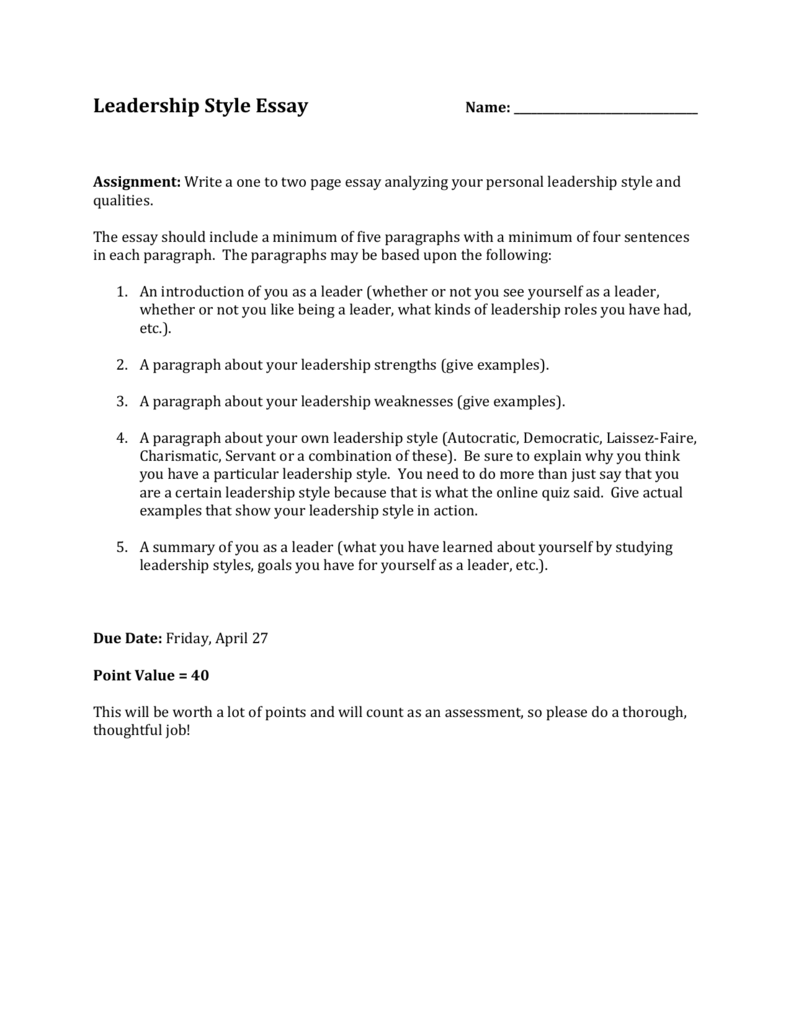 017 006906280 1 Being Leader Essay Imposing A Great College Qualities Of Pdf Full