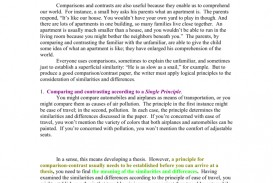 017 007777977 2 Compare And Contrast Essay Striking Example Examples College Level Topics 9th Grade For Students 320