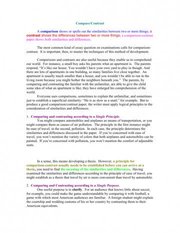 017 007777977 2 Compare And Contrast Essay Striking Example Examples 4th Grade For 5th College Outline 360