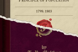 017 61xy24cllwl Essay On The Principle Of Population Singular Pdf By Thomas Malthus Main Idea