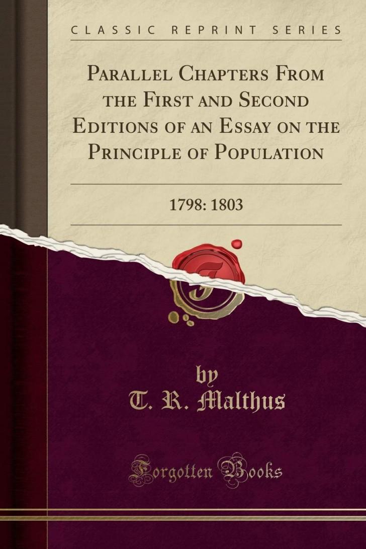 017 61xy24cllwl Essay On The Principle Of Population Singular Malthus Sparknotes Thomas Main Idea 728