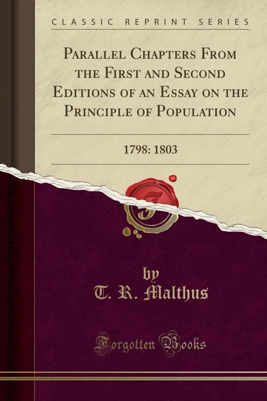 017 61xy24cllwl Essay On The Principle Of Population Singular Malthus Sparknotes Thomas Main Idea 868