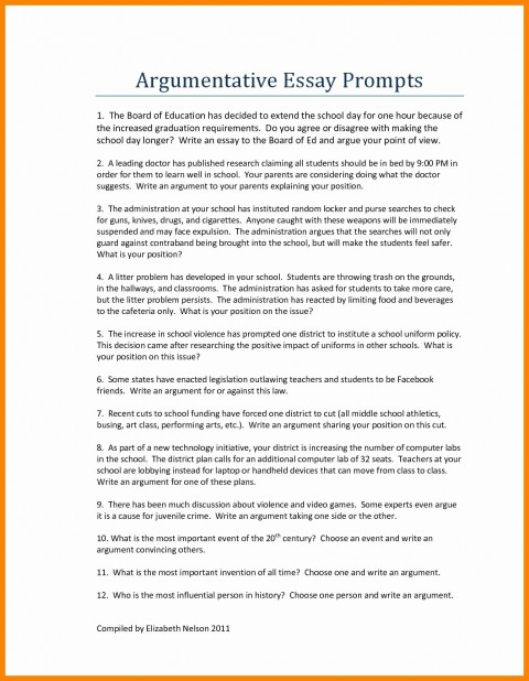 017 Argumentative Essay Examples High School Printables Corner Samples For Middle Wi Simple Secondary Short Pdf Topics Paragraph Example Astounding Ap Lang Sample Download 480