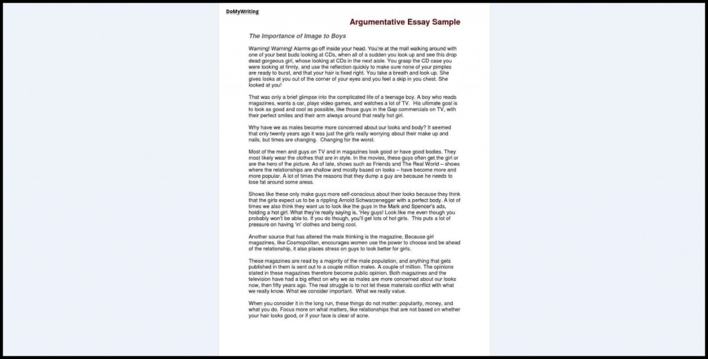 017 Argumentative Essay Sample Samples Excellent Good For Toefl Ielts Pdf Large