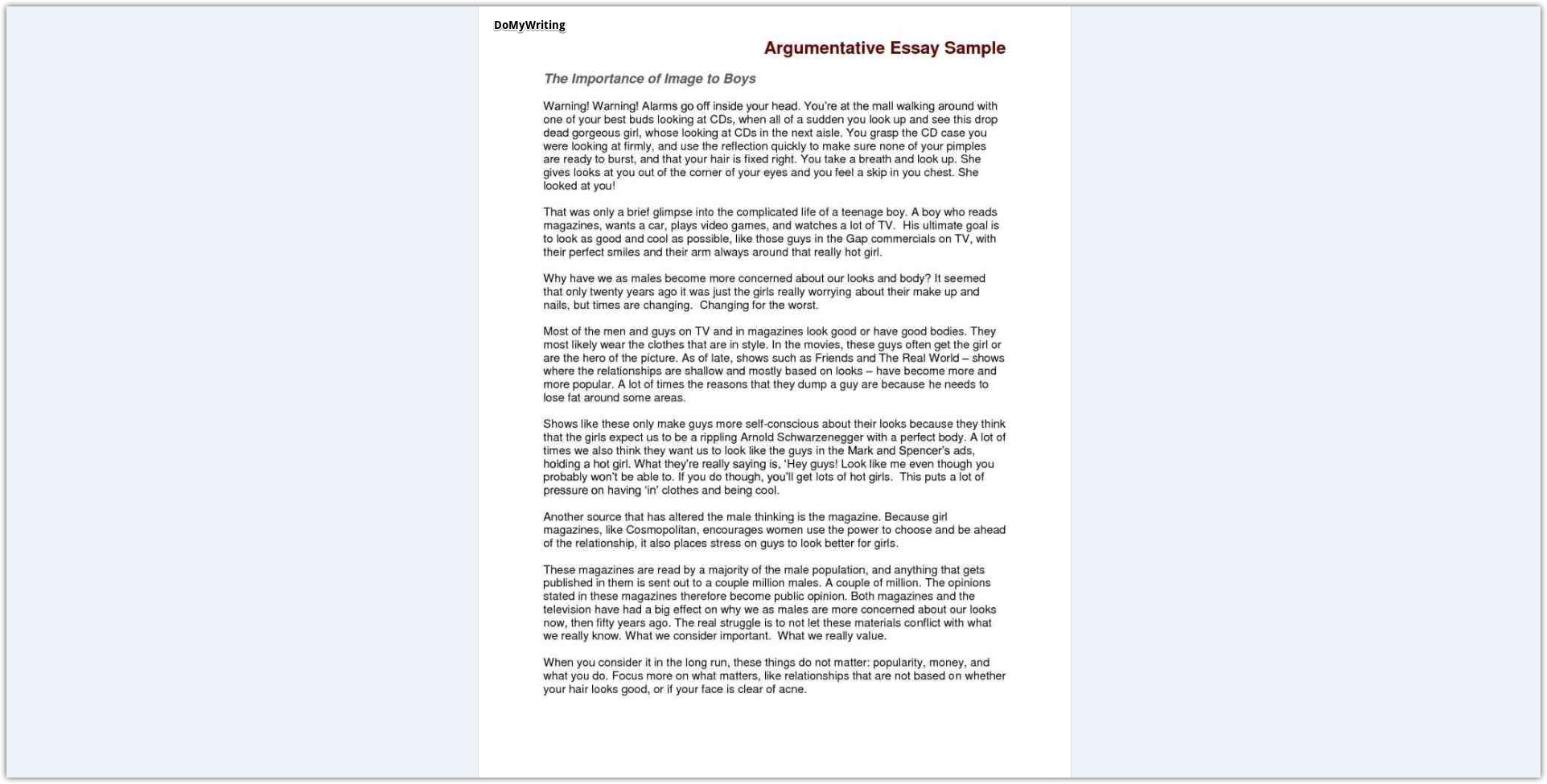 017 Argumentative Essay Sample Samples Excellent Examples For College Students Ielts Pdf Template Full