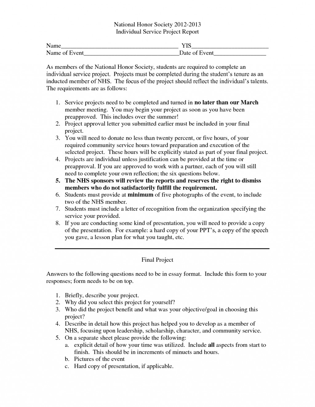 013 National Honor Society Essays Essay Example Thatsnotus
