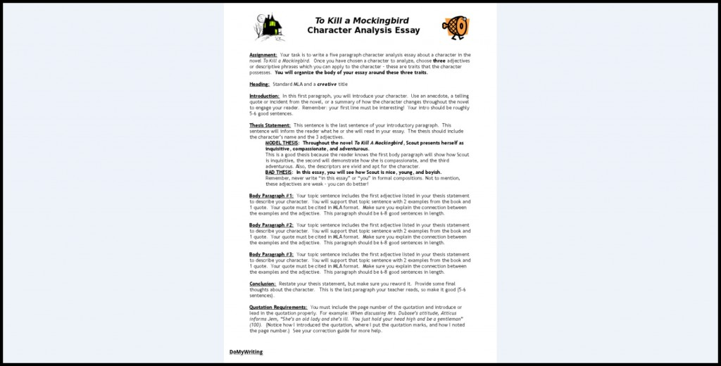 017 Character Essay Example Analysis Wondrous Introduction Lord Of The Flies Plans Sketch Rubric Large