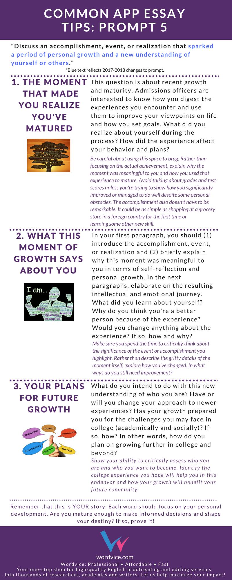 017 Common App Brainstormprompt Essay Prompt Unusual 1 Examples 3 4 Full