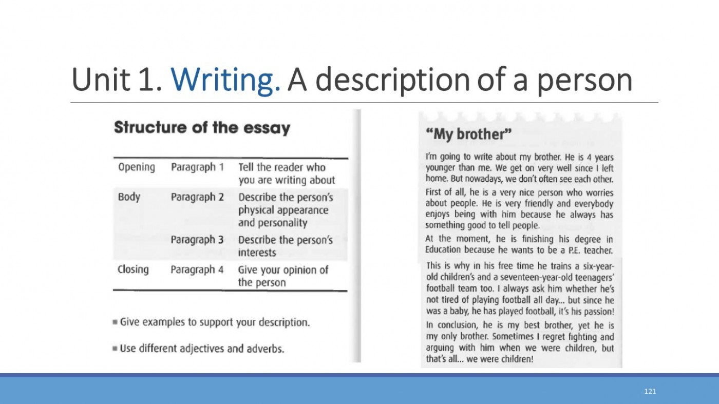 Physical appearance essay