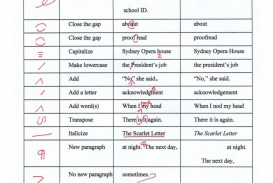 017 Essay Correction Proofreading Marks Copyrights Free Websites Code Ielts Online Worksheet Website App Symbols Service Practice Rare Spanish English