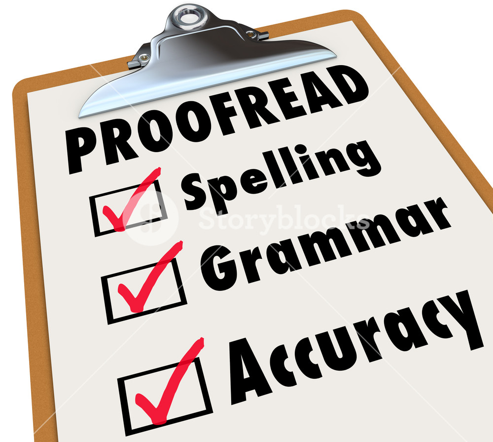 017 Essay Editor Free Example Graphicstock Proofread Checklist And Checked Boxes Next To The Words Spelling Grammar Accuracy As Things An Reviews In Article Or Report Spscidf Imposing College Trial Online Full