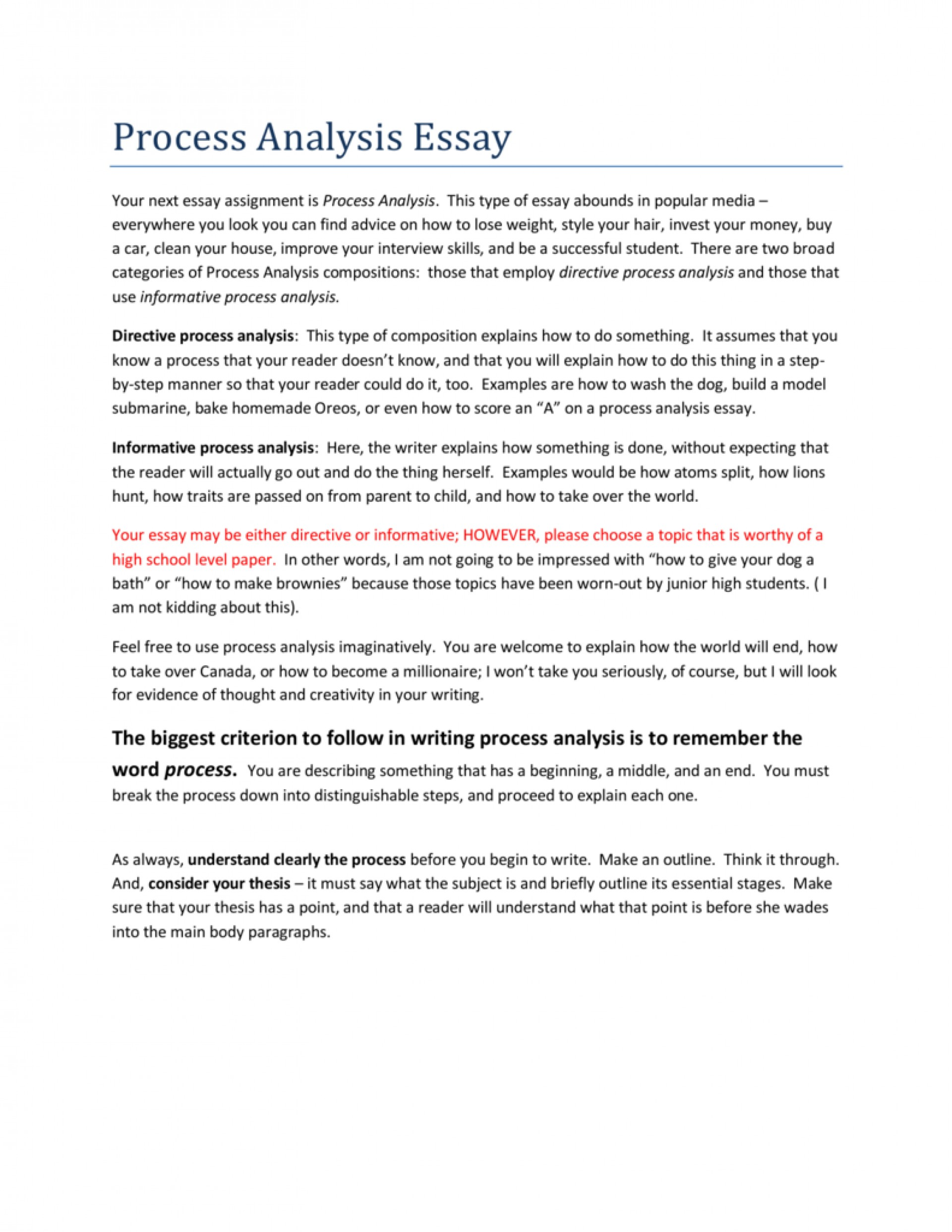 017 Essay Example 008757254 1 How To Write Top A Process Ielts Thesis Statement For Analysis 1920