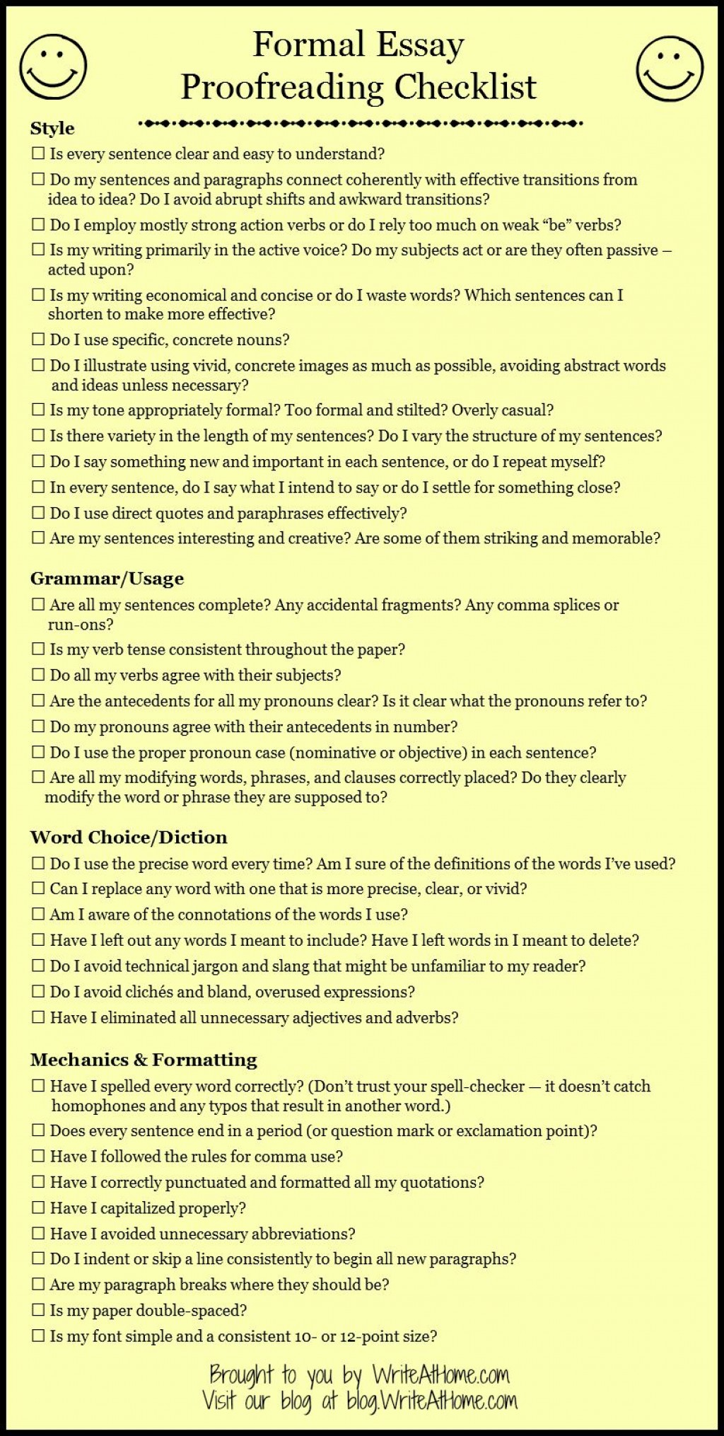 017 Essay Example Sensational Proofreader Online Persuasive Proofreading Checklist College Service Large