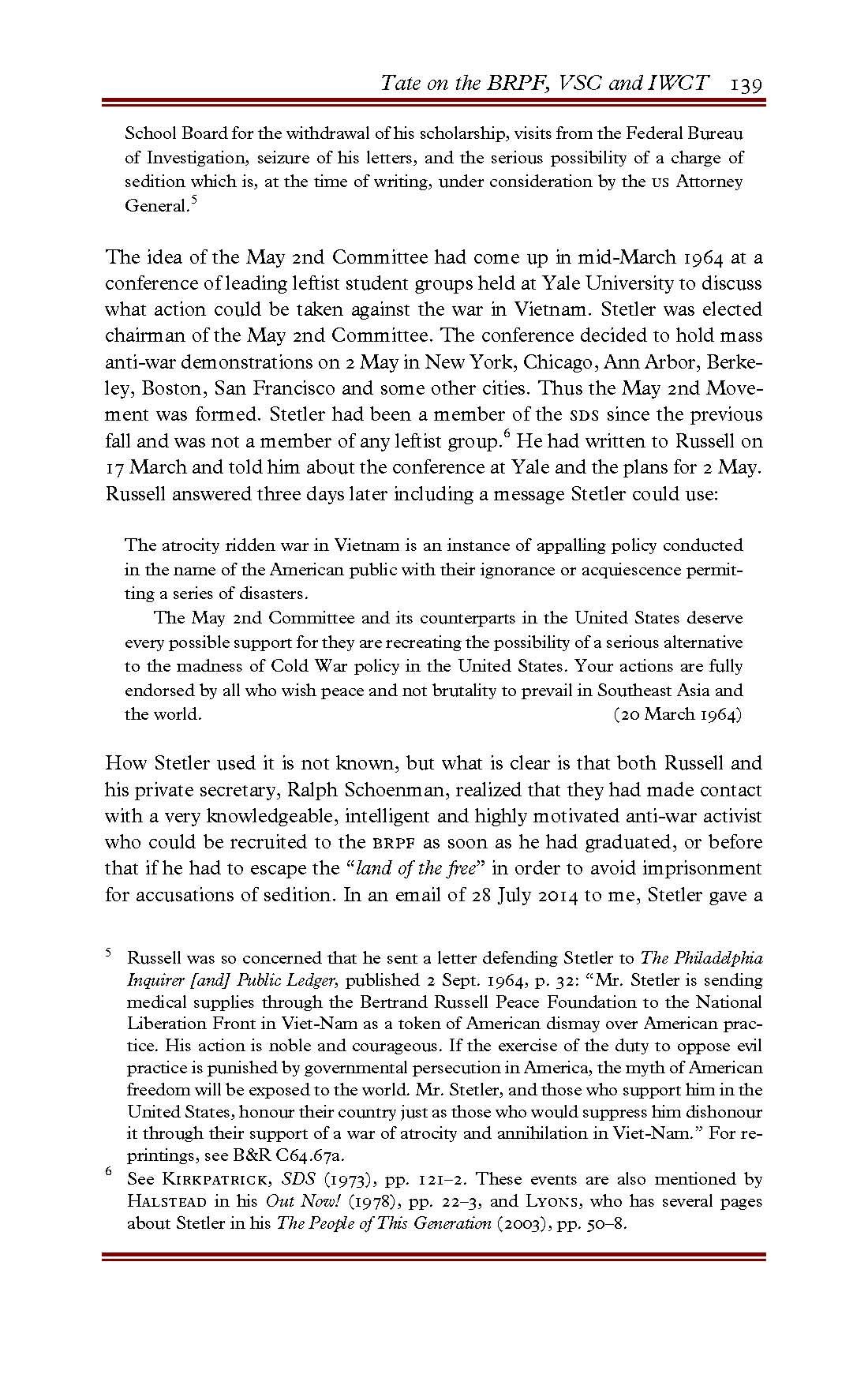 The veldt thesis