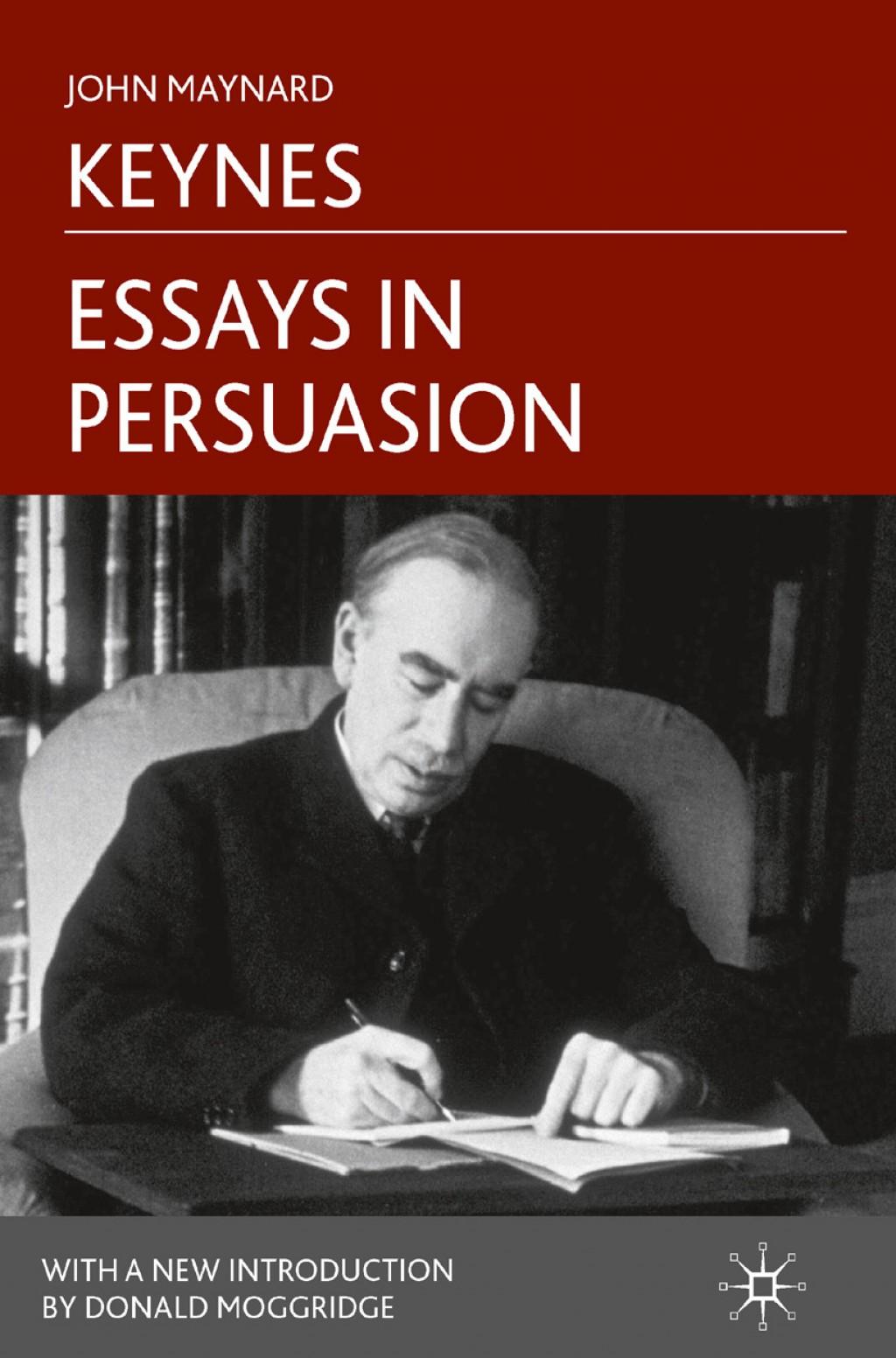 017 Essay Example Bookcover 978 Essays In Remarkable Persuasion Audiobook Pdf John Maynard Keynes Summary Large