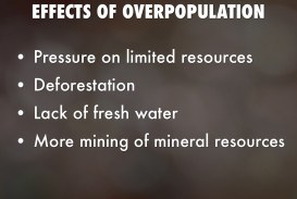 017 Essay Example Cause And Effect Of Remarkable Overpopulation