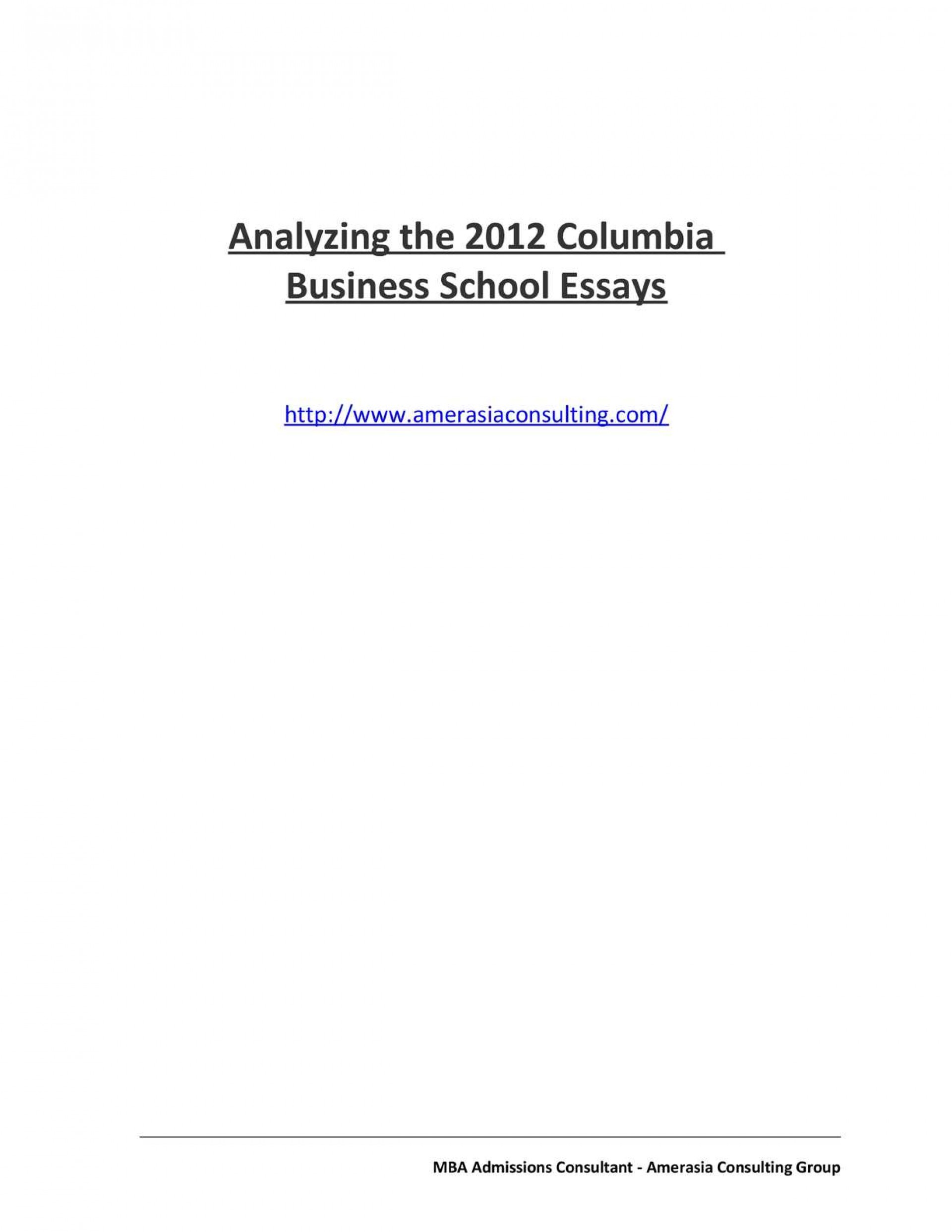 017 Essay Example Columbia Essays Analyzing The Business School Analys Admission Analysis Help Examples Shocking Mba That Worked Undergraduate 1920